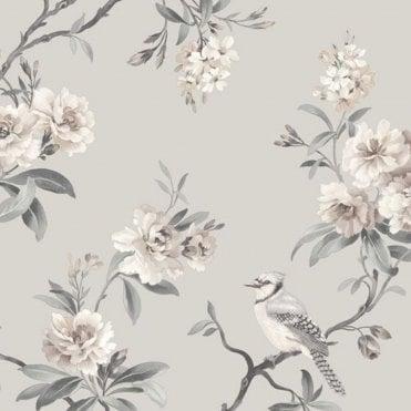 Birds Butterfly Wallpaper