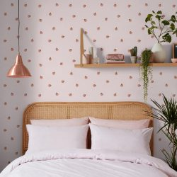 Skinnydip London Wallpaper Peachy